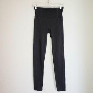 Spanx women's active full length black leggings